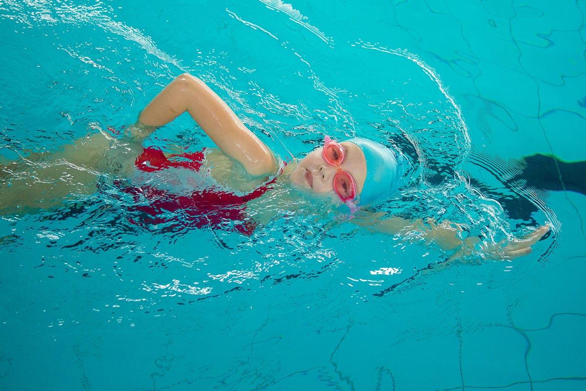 Абонемент детский в большой бассейн